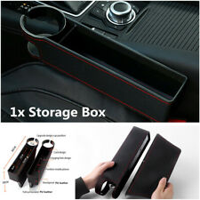 1Pc Multi-purpose PU Leather Car Seat Crevice Storage Box Gap Filler Accessories