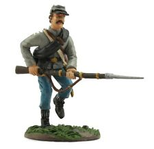 Confederate Infantry Charging #1 - ACW18603 History Works Civil War Toy Soldier