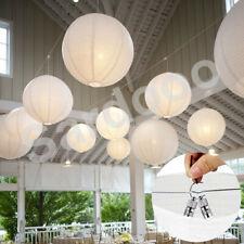10XPapier Laterne Lampion Rund Lampenschirm Hochtzeit Party Dekoration Ballform