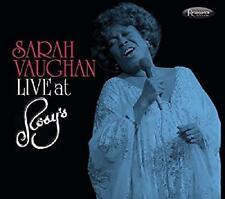 Sarah Vaughan - Live At Rosy's (NEW 2CD)