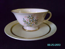 Franciscan China FREMONT Cup & Saucer Set Vintage Made in California Tea
