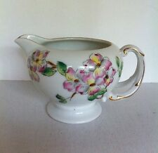 Rossetti China Floral Creamer Hand Painted Sango Japan