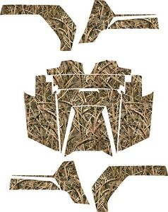 Polaris RZR RANGER 570 800 900 xp DECALS WRAP DOORS UTV camo camouflage grass 2