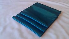 10 x TEAL BLUE SATIN Table Runners