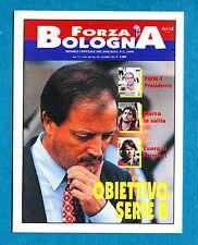 """BOLOGNA 96-97 -Ediland- Figurina-Sticker n. 40 - RIVISTA """"FORZA BOLOGNA"""" -New"""