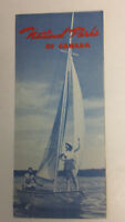 Vintage National Parks of Canada Brochure Tourist Guide travel vacation camp