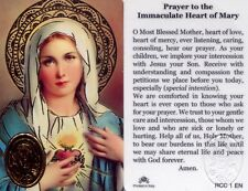 Prayer to Immaculate Heart of Mary Ever Loving Listening Catholic Cards RCC1EN