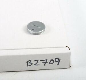 Olympus OM10 Battery cap/cover, Silver 35mm SLR(B2709)