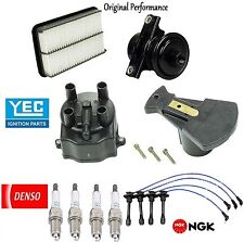 Tune Up Kit Filters Cap Rotor Wires Plugs for Toyota Corolla 1.8L 1993-1995 1997