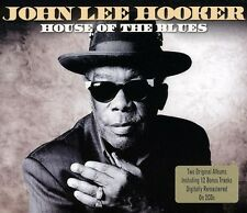 House Of The Blues - 2 DISC SET - John Lee Hooker (2011, CD NUOVO)