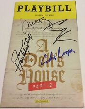 A DOLLS HOUSE PART 2 SIGNED BROADWAY PLAYBILL CHRIS COOPER LAURIE METCALFE NYC