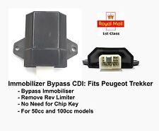 Immobiliser Chip llave Bypass Cdi Para Peugeot Trekker 50cc 100cc aci100 aci100.01