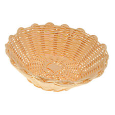 MagiDealMagiDeal Round Woven Bread Roll Baskets Snacks Food Serving Baskets L