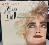 MADONNA WHO'S THAT GIRL LP SIRE 1987 25611-1 Record Club Edition