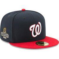 Washington Nationals New Era 2019 World Series Champions Alternate Sidepatch