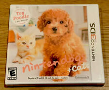 NINTENDOGS + CATS TOY POODLE & New Friends (Nintendo 2DS/3DS) Brand NEW SEALED