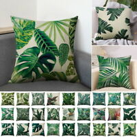 Leaves Printed Boho Style Throw Pillow Case Cushion Cover Sofa Waist Party Decor