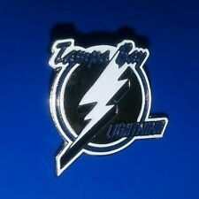 Vintage Nhl Tampa Bay Lightning Hockey Team Logo Collectible Pin Authentic Rare