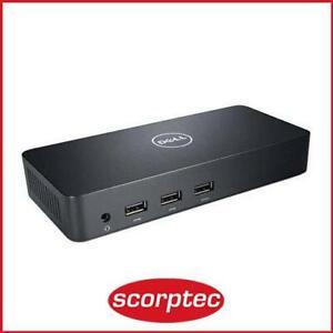 Dell D3100 UHD 4K USB 3.0 Docking Station