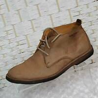 Hush Puppies Mens Chukka Boots Desert II Brown Suede Leather Lace Up Mid Top 9 M