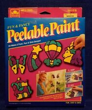New ~ Vintage ~ Fun & Fancy Peelable Paint (Golden Arts & Crafts, 1993) No. 8112