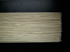 35 Barre di legno d'acero linguetta 800 x 3 x 0,6 mm