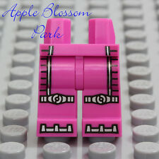 NEW Lego Female Dark PINK GIRL MINIFIG LEGS Intergalactic Space Suit Silver Boot