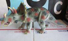 "Triceratops 21"" Large Size Plastic Dinosaur Figure"