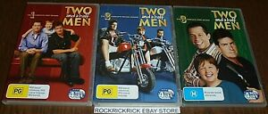 TWO AND A HALF MEN THE COMPLETE 1, 2, & 3 SEASONS DVD SET REGION 4