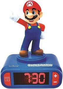 Lexibook RL800NI Kinderwecker Nintendo Super Mario Wecker Nachtlicht