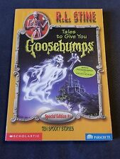 GOOSEBUMPS book R L STINE TALE TO GIVE YOU GOOSEBUMPS Special Edition #1