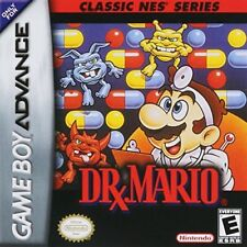 Dr Mario For GBA Gameboy Advance Puzzle Game Only 4E