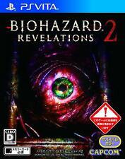 BIOHAZARD REVELATIONS 2 PS Vita Capcom Sony PlayStation Vita From Japan