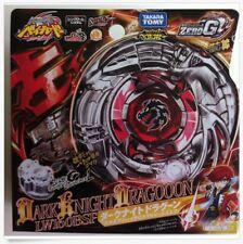 TAKARA TOMY BEYBLADE ZERO-G BBG16 Dark Knight Dragooon+LAUNCHER