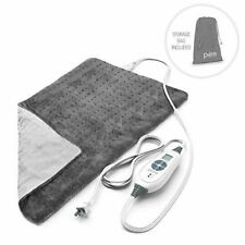 PureRelief XL - King Size Heating Pad with Fast-Heating Technology Mint Conditio