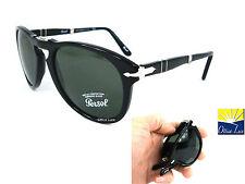 Persol 714 95/31 54 Nero PIEGHEVOLE 9531Sunglass Occhiali Sole Sonnenbrille