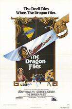 THE DRAGON FLIES Movie POSTER 27x40 Yu Wang George Lazenby