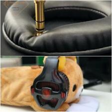 Oval Ellipse Egg Shape Soft Leather EarPad Foam Cushion For SADES SA-903 Headset