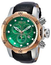 New Mens Invicta 10812 Reserve Venom Green Textured Dial Chronograph Dive Watch