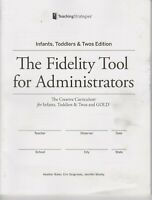 The Fidelity Tool for Administrators Infants, Toddlers & Twos Edition (Qty 10)