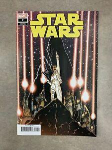 Star Wars #7 1:25 Aaron Kuder Princess Leia Variant Marvel 2020