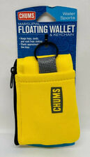 Chums Yellow Marsupial Floating Wallet & Keychain for Water Sports #90070