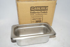 5 new CARLISLE 607192 Dura Ware 18-8 Stainless Steel Food Pan, 6-7/8 x 4-1/4 x 2