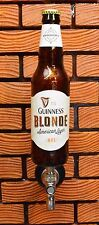 GUINNESS BLONDE BEER TAP HANDLE - A COOL GIFT for MANCAVE or BOTTLE DISPLAY