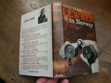 GLYN CARR, LEWKER IN NORWAY ,FIRST EDITION , 1963, 1ST DUST COVER,FREEPOST