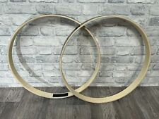 """More details for natal arcadia bass drum 22"""" wooden hoops rims hardware tension (new)"""