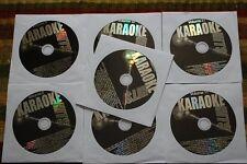 7 CDG LOT OLDIES KARAOKE - JUDY GARLAND,BEN E KING,ANDY WILLIAMS,BOB HOPE CD+G