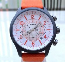 VERSACE Mens Watch Chronograph Versus by Versace Collection Orange RRP£190 NEW
