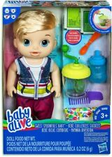 NEW Baby Alive Sweet Spoonfuls Boy Blonde from Mr Toys
