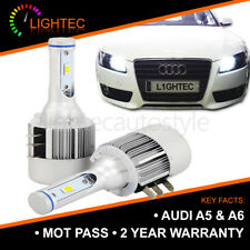 2X CANBUS AUDI A5 A6 H15 72W LED DRL HIGH BEAM BULBS PURE XENON WHITE 6000K UK